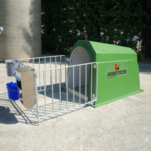 Box In vetroresina per Vitelli AGRIBOX1