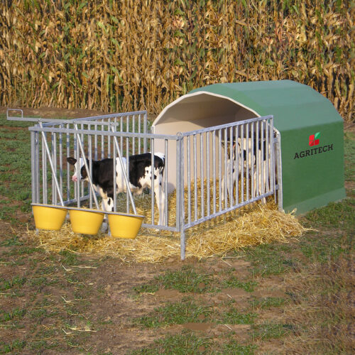 Box per 3 vitelli Mod. AGRIBOX3C