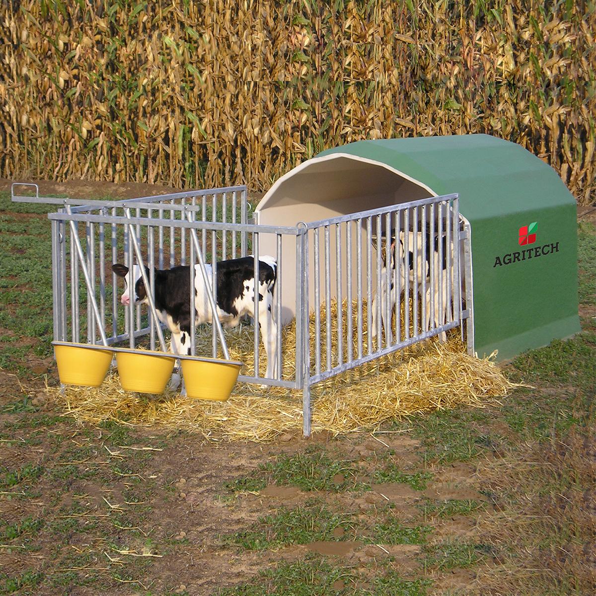 Box per 3 vitelli Mod. AGRIBOX3C