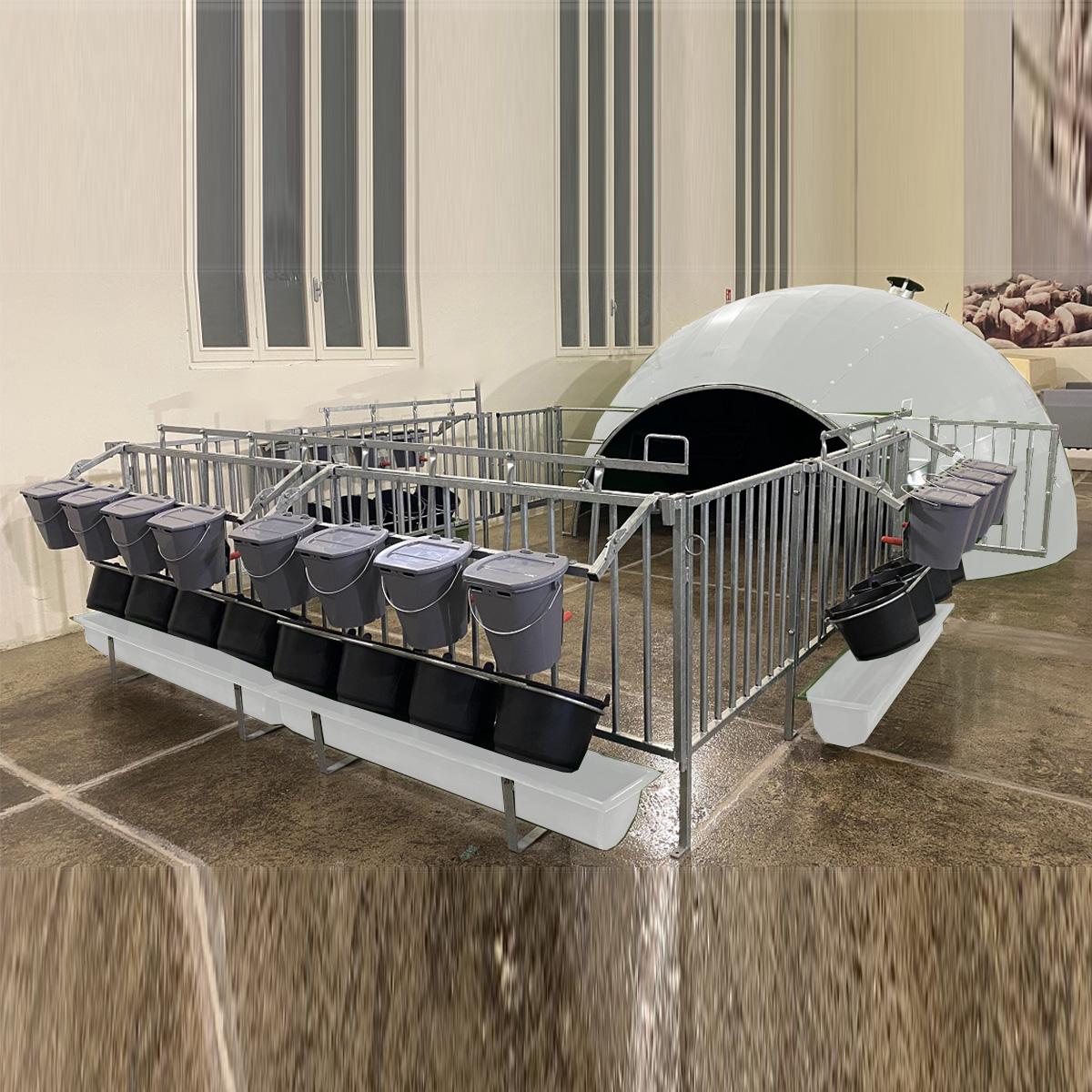 Box in vetroresina per vitelli Mod. SPHERIBOXC